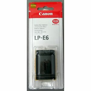 Genuine-Canon-Battery-Pack-LP-E6-for-Canon-EOS-5D-Mark-II-60D-and-7D-Cameras