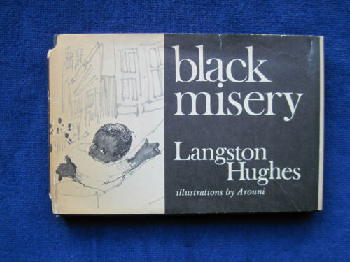 LANGSTON HUGHES Black Misery - Illustrated by AROUNI