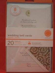 New martha stewart wedding bell printable cards invitation for Wedding invitation kits martha stewart
