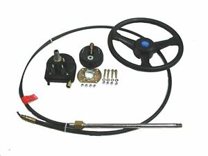 Boat-Steering-System-Rotary-13-Cable-Outboard-55-hp-Max-Marine-Rib-3-75-m
