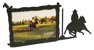 Girl-Woman-Pole-Bending-Rodeo-Picture-Frame-3-5-x5-3-x5-H