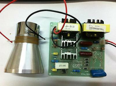 AC110V 100W 40K Ultrasonic cleaner power driver board+1PCS 60W 40K  transducer