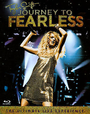 Taylor Swift: Journey to Fearless (Blu-ray Disc, 2012) NEW