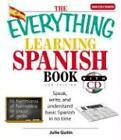 The Everything Learning Spanish Book von Julie Gutin (2007, Taschenbuch)
