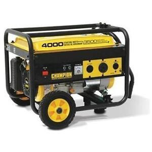 Champion Equipment 46597 4000 Watt 6 5 Hp Generator