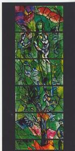 Ansichtskarte-Marc-Shagall-Wurzel-Jesse-Fenster-Zuerich-Detail-10-5-x-21-cm