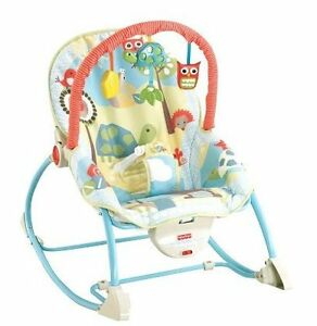 Fisher-Price-Owl-Infant-to-Toddler-Rocker-Bouncer-Seat-Vibrating-Chair ...