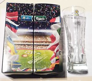 CARLSBERG-Beer-Clear-GLASS-0-25cl-Poland-Ukraine-EURO-2012-promo-in-Box-Malaysia