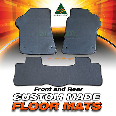 FORD Ranger PJ/PK Custom Made F&R Floor Mats 12/2006-ON Charcoal or Black NEW