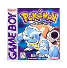 Pokemon: Blue Version (Nintendo Game Boy, 1998)
