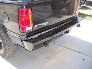 Ford Explorer Rear Bumper From Rlc Custom Made For You