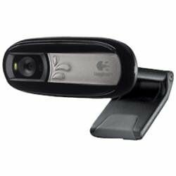 PC /& MAC ™ Logitech C170 Universal USB Webcam Camera 5MP with Microphone