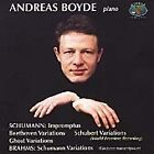 Andreas Boyde Plays Schumann & Brahms (2000)