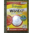 Professor Teaches Word XP 2002 & 2000 (PC)