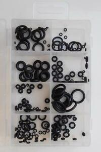 180pc-Small-Mini-Rubber-Washer-O-Ring-Seal-Set