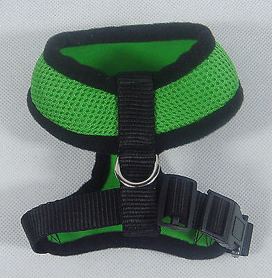Soft Mesh Doggie Harness, adjustable, light, breathable,fleece and sponge lining