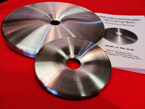 "BEWARE of Attempted Copies! 4.5/"" /& 9/"" Replacement Shrinking Disc Combo SDCP"