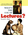 What's the Use of Lectures? by Donald Bligh (Paperback, 2000)