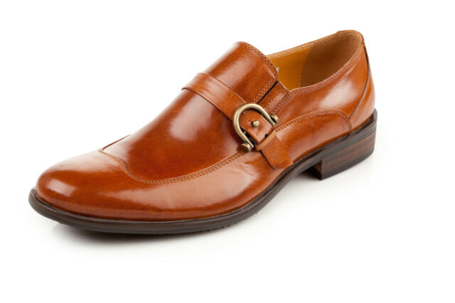 Men's Dress Shoes Genuine Leather Handmade @7722