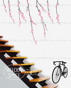 Romantic-sakura-Home-room-Decor-Removable-Wall-Stickers-Decal-Decoration
