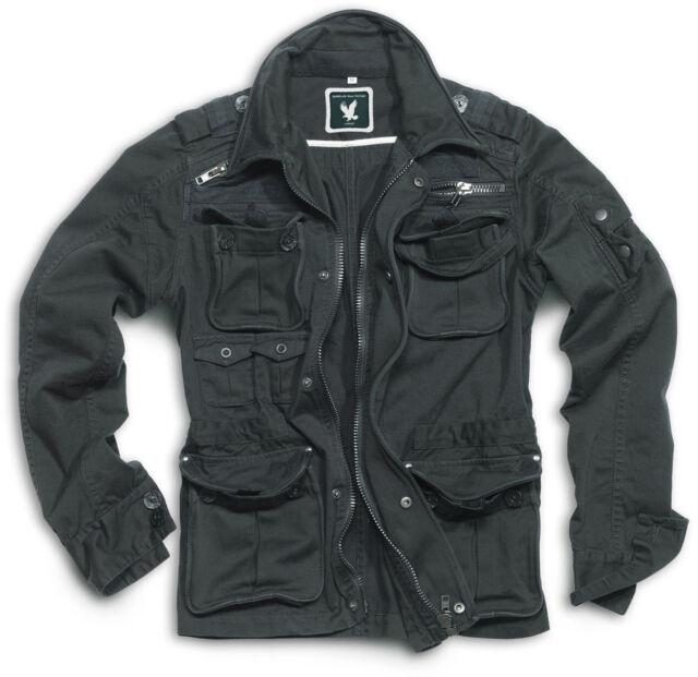 Vintage Jacket Surplus Brooklyn M65 Military/Army Black