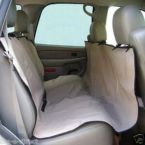 universal waterproof car back seat cover pet dog cat rear seat hammock protector ebay. Black Bedroom Furniture Sets. Home Design Ideas