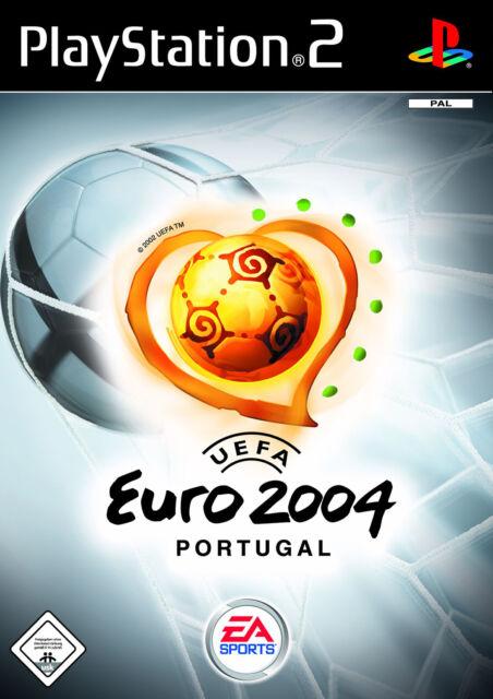 UEFA Euro 2004 (Sony PlayStation 2, 2004, DVD-Box) Wie Neu Top USK 0