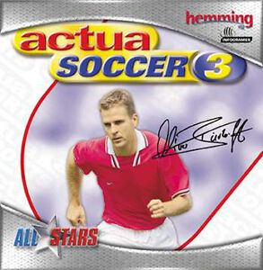 Actua Soccer 3       (Jewelcase) (PC)   NEUWARE