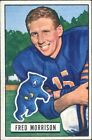 1951 Bowman Fred Morrison Chicago Bears #49 Football Card