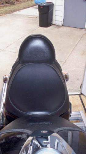 Custom Suzuki  Boulevard M109 or M90 Motorcycle Drivers Backrest Quick Release