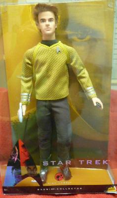 Star Trek Ken Captain Kirk Pink Label Barbie Collector