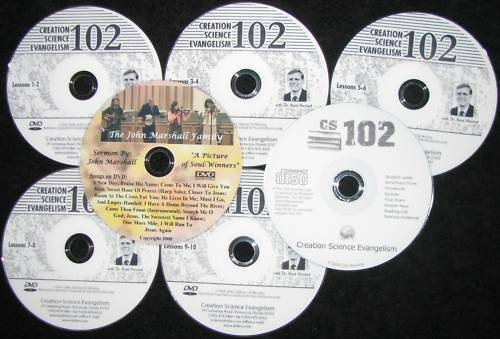 Marshall DVD+FREE 6 CSE 102 Hovind College Course NEW