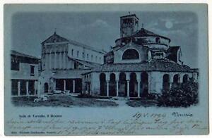 ISOLA-DI-TORCELLO-VENEZIA-CARTOLINA-IL-DUOMO-VG-1899