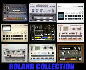 Roland-Tr-808-909-606-505-727-707-626-66-Cr78-Samples