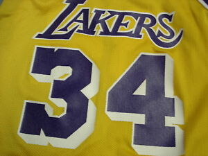 Image is loading Vintage-SHAQUILLE-ONEAL-Los-Angeles-Lakers-Jersey-6- 2b0f55102