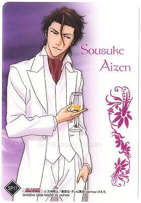 Bleach Anime Aizen Clear Collection SP Card #1st
