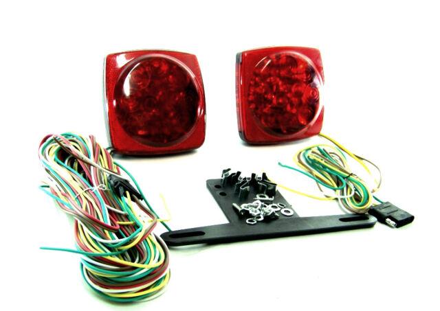 12V LED RV'S BOAT TRAILER TAIL LIGHT  BRAKE TURN SIGNAL
