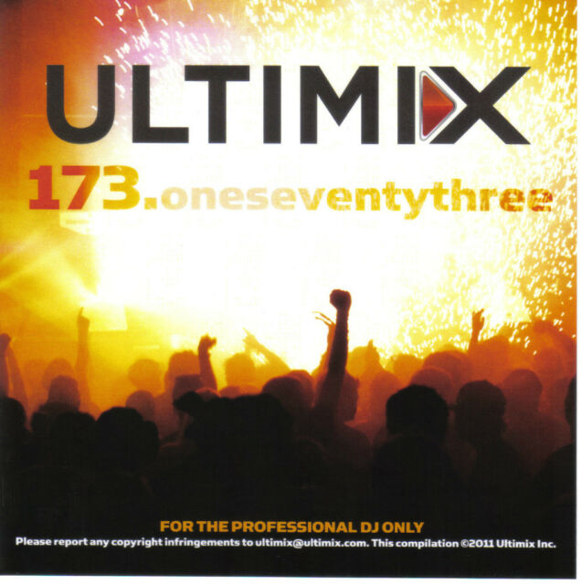 Ultimix 173 CD Ultimix Records Lady Gaga,The Band Perry,Gym Class Heroes,Adele