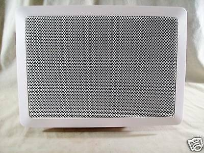 New In The Wall Sub-Woofer Speaker, White In Original Box