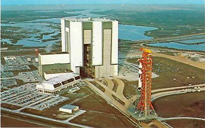 Skylab 2 NASA Kennedy Space Center 1973 TWA Postcard