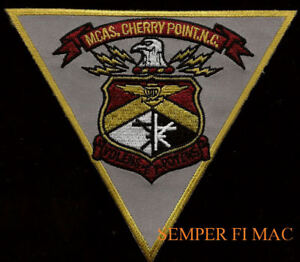 MCAS-CHERRY-POINT-PATCH-MARINES-CORPS-AIR-STATION-2nd-MAW-MAG-PIN-UP-GIFT-WOW