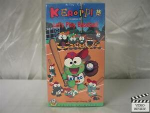 Keroppi-Volume-4-Lets-Play-Baseball-VHS-NEW