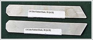Lie-Nielsen-98-98-Side-Rabbet-Plane-cutter-NEW