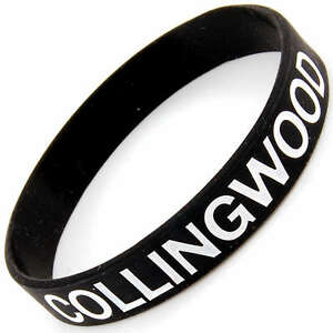 COLLINGWOOD-AFL-MIGHTY-MAGPIES-WRISTBAND-SILICONE-GRAND-FINALS-PREMIERS-ARM