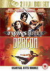 Dragon - The Bruce Lee Story /The Twins Effect (DVD, 2007, 2-Disc Set)