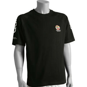 Adidas-Karate-WKF-Black-Cotton-T-Shirt