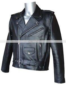 Terminator schwarz neu herren klassische biker film fashion jacke das bild wird geladen terminator schwarz neu herren klassische biker film fashion thecheapjerseys Choice Image