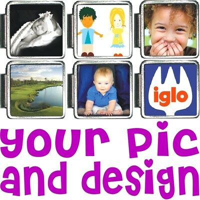 CUSTOM PHOTO ITALIAN CHARM! Your Picture FREE SHIPPING!