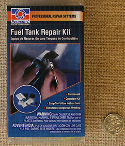 permatex fuel tank repair kit instructions