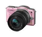 Panasonic LUMIX DMC-GF3K 12.1MP Digital Camera - Pink (Kit w/ ASPH 14-42mm Lens) (Vario G)
